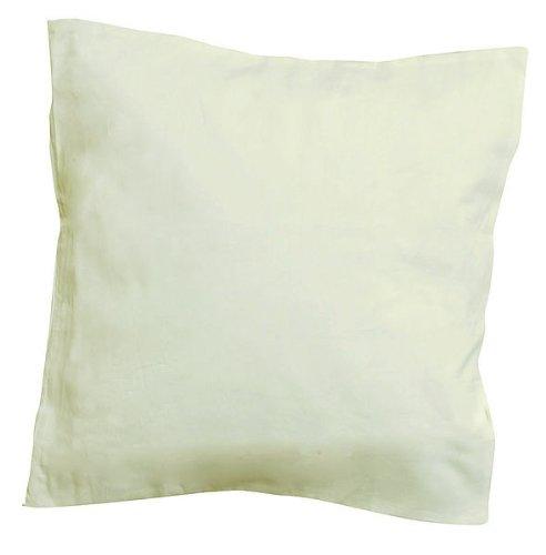 5 x Kissenhülle creme weiß 40 x 40 cm, Kissenbezug, Kissenhülle zum Bemalen