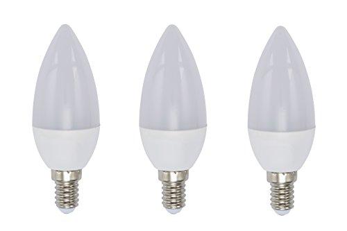 Briloner Leuchten 0522-003 Ampoule LED E14 3 W Plastique/Verre Blanc