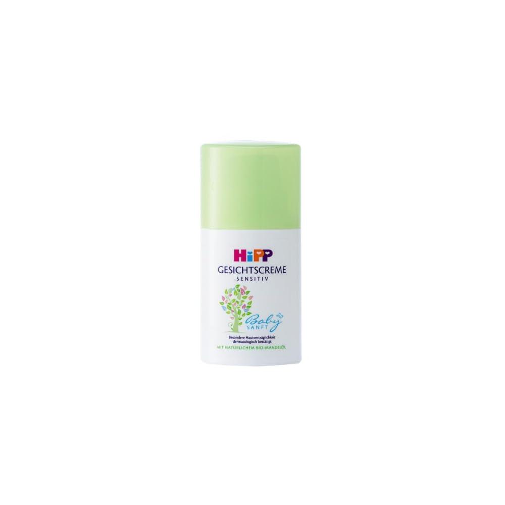 Hipp Babysanft Gesichtscreme 3er Pack 3 X 50 Ml