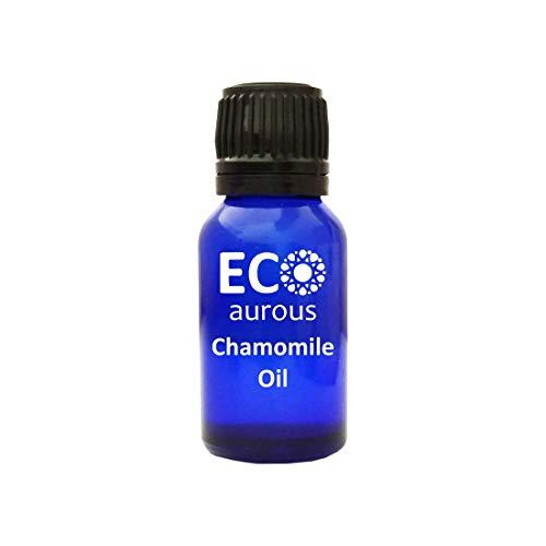 Aromatherapy Face Oil (Chamomile Oil 100% Natural, Organic, Vegan & Cruelty Free Chamomile Essential Oil | Pure Chamomile Oil By Eco Aurous (20 L))