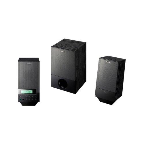 Sony PC 2.1 Speakers with Radio (Black)