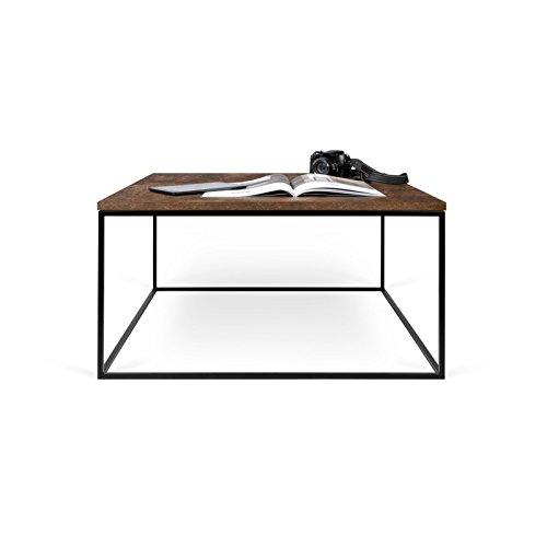 Paris Prix - Temahome - Table Basse Gleam 75cm Rouille & Métal Noir