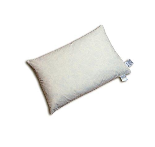 rkissen 40x60 cm (echte Federn) vielfältige Größen und Füllmengenauswahl, waschbar traditionell gefertigt Farbe Creme ()