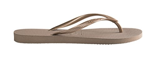 Havaianas–Tong Femme Slim Gold (Rose Gold)