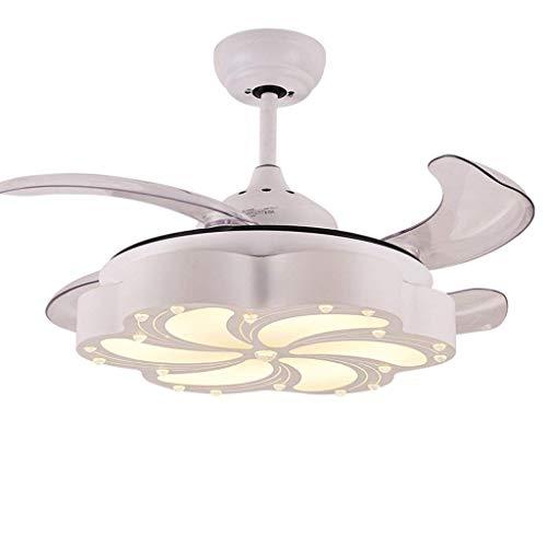 Lightfan lights lampadario moderno semplice con ventilatore a soffitto 45 pollici di luce tricromatica 20 watt xuan - vale la pena avere (colore: wall control)