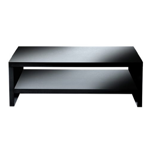 Levv TV1100BHG High Gloss TV Stand for up to 50 inch Screens - Black