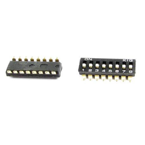 Sourcingmap - Componente electrónico 2pcs 8 posiciones
