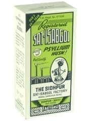 Sat-Isabgol Régulateur intestinal naturel à base de tégument de psyllium contre la constipation et la diarrhée 200g