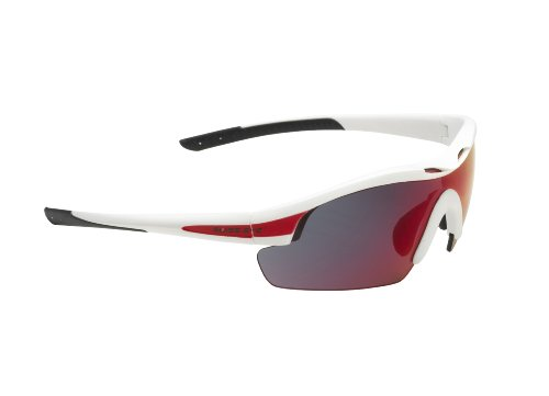 Swiss Eye Sportbrille Novena white matt/red, One Size