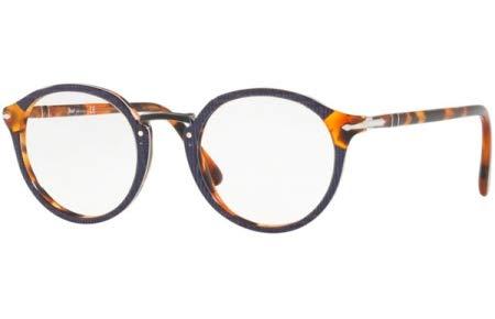 Ray-Ban Herren 0PO3185V Brillengestelle, Mehrfarbig (Blue), 48.0