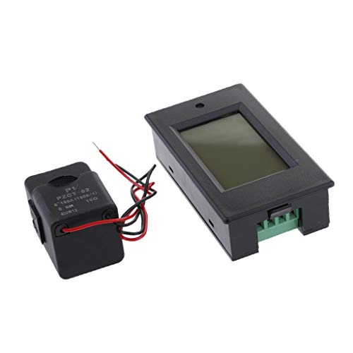 Baoblaze LCD Digital Display Spannung AC 80-260V 100A Strom Leistung Energie Test-Voltmeter Amperemeter Testing Messer Multimonitorstrom