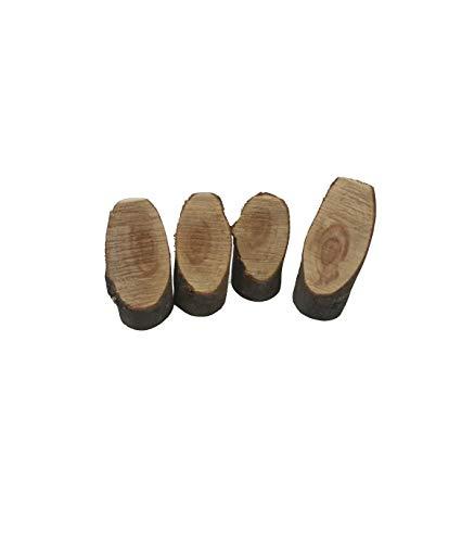 Trade shop traesio 12 segna tavolo segnatavoli segnaposti per numero segnaposto in legno naturale