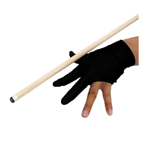 Qingsun 3-Finger Billard Gloves 3-Handschuhe Snooker Shooters Gloves Yo-Yo Gloves