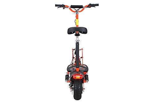 E-Scooter Roller Original E-Flux Freeride 1000 Watt 48 V mit Licht und Freilauf Elektroroller E-Roller in vielen Farben (orange) - 6