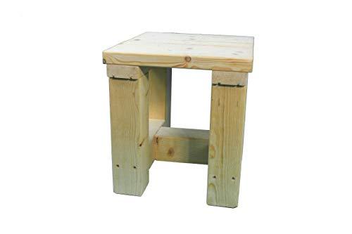 Dekorie sgabello in legno da giardino sgabello in legno massello