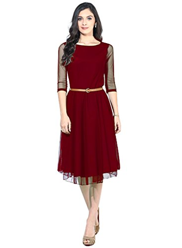 western dresses for women Red Sketer Colour exclusive Dress ( All Size available )