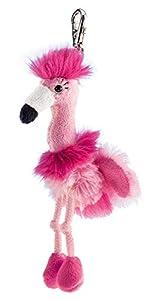 Schaffer 233de Peluche Llavero Flamingo Chantal