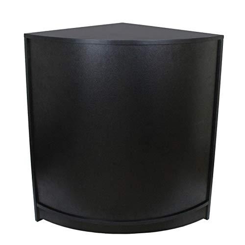 MonsterShop - Mostrador CM60 Negro para Tienda y Receción 90cm x 60cm x 60cm