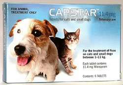 Capstar Tablets Dogs Over 11kg (57mg) from Novartis