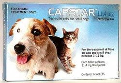 Capstar Tabletten für Hunde mit mehr als 11 kg Körpergewicht 57 mg