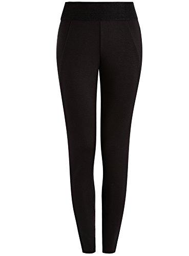 oodji-collection-donna-leggings-con-elastico-largo-in-vita-nero-it-50-eu-46-xxl