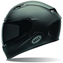 Bell Power Sports Qualifier DLX Moto Casco, color Negro Solido Mate, talla XXL
