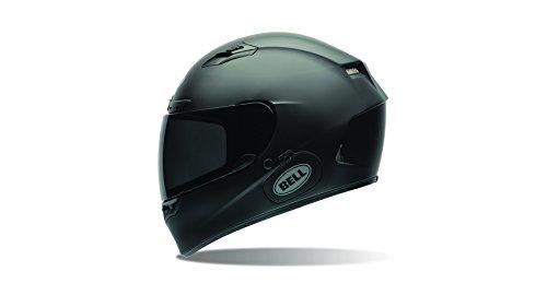 Bell Power Sports Qualifier DLX Moto Casco, color Negro Solido Mate, talla XS