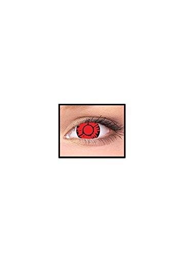 MesmerEyez Blinder Twilight Volturi Vampir - 3 Monate Fun Linsen - Halloween Karneval Party - MesmerGlow - Pro 2