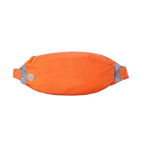 Multifunktionale Outdoor Fitness Sporttaschen Mehrfarbig Orange