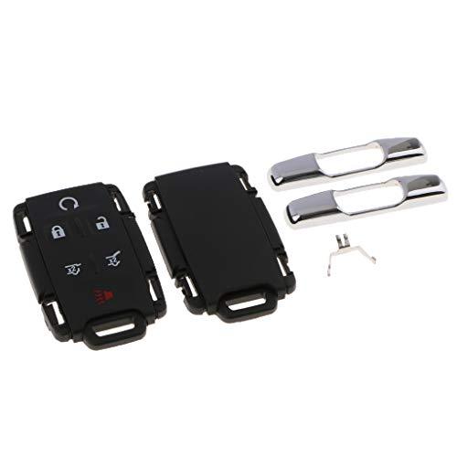 6 Boutons Poussoir batterie 2x Pour TOYOTA Funkschlüssel clés de voiture sur le Clavier en Caoutchouc