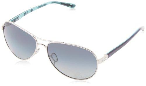Oakley Damen Feedback Aviator Sonnenbrille, Blue