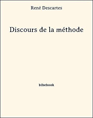 Couverture du livre Discours de la méthode