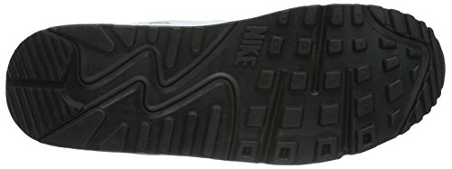 Nike Air Max 90 Essential, Scarpe da Ginnastica Uomo Bianco (White/Black)