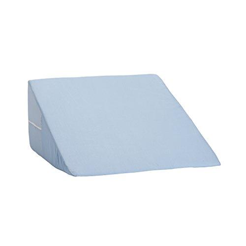 DMI Oreiller angulaire pliable Bleu 30 x 60 x 60 cm