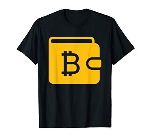 Bitcoin Brieftasche Blockchain Technologie Krypto Tshirt T-Shirt (Bitcoin-technologie)