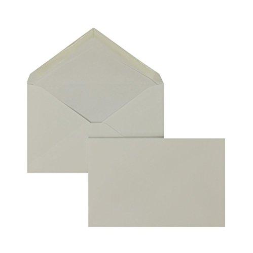 Briefhüllen | Premium | 95 x 145 mm Weiß (100 Stück) Nassklebung | Briefhüllen, Kuverts, Couverts, Umschläge mit 2 Jahren Zufriedenheitsgarantie