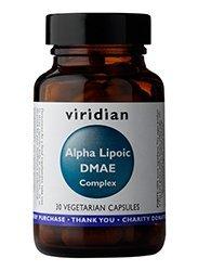 Viridian - Alpha Lipoic Acid with DMAE Complex: 30 Vegetable Capsules