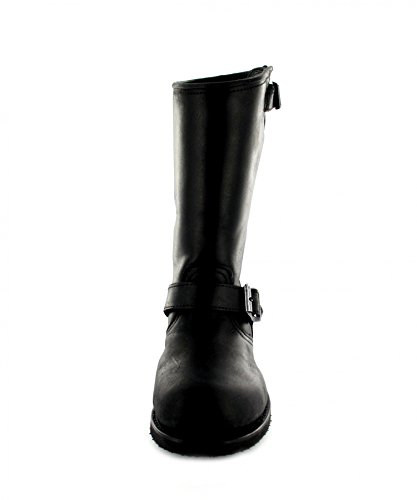 Sendra Bottes Bottes 9852Engine ersti Efel avec capuchon en acier & Isolation Thinsulate Noir - Noir