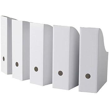 Ikea   Portariviste, 5 Pezzi, Colore Bianco WHITE PACK OF 5