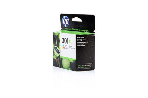 Original XL Tinte HP 301 , 301XLCH 564 EE , CH564EE - Premium Drucker-Patrone - Cyan, Magenta, Gelb - 330 Seiten - 8 ml (564 Drucker Hp)