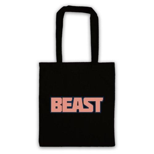 Beast-Borsa da palestra, motivo: aforismi [lingua inglese] Nero