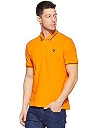 Van Heusen Men's Solid Regular Fit Polo