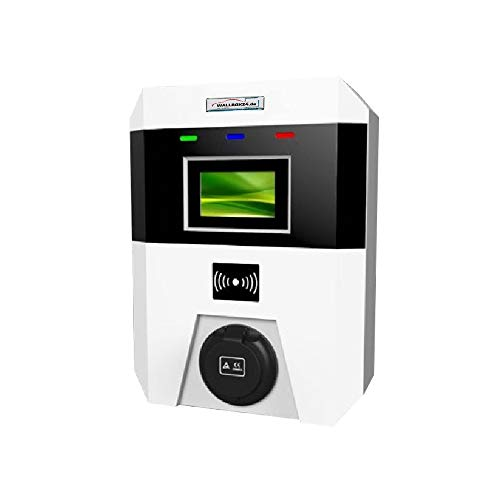 Preisvergleich Produktbild Ladegerät Wallbox WiFi Serie 1 Phasig 230V 3.6kW 16A Typ 2 Steckdose WiFi für Elektrofahrzeug Hybrid EV