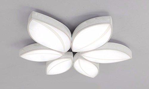 Deckenleuchte Wohnzimmer Schlafzimmer Home Lighting Modern Einfach Restaurant Kreative Lampen Kind Bügeleisen Acryl Romantisch drei Farben machen Licht Durchmesser 68 cm MeloveCc -