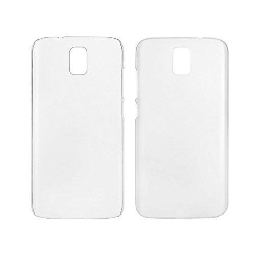 Crystal Edel Plastik Kunststoff Transparent Cover Schutzhülle für Umi Rome / Umi Rome X Smartphone Tasche Hülle Etui Case (Clear Weiß)