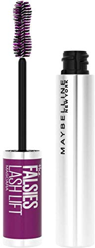 Maybelline New York - Mascara effet faux cils - Falsies Lash Lift - Couleur : Noir, 9,6 ml