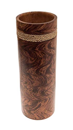 ROMBOL Vase, Holzvase, Höhe 43,5 cm, Deko, Dekoration, Dekovase, Holz