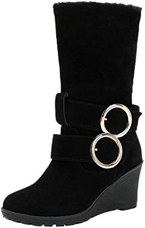 Hiver Chaussures Bottes Femme Chaudes Imperméable Rbnb BdtwqIx