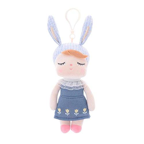 hen Metoo Puppe Plüsch Spielzeug, mamum kawaii Angela Kaninchen Metoo Puppe Plüsch Bunny gefüllt Spielzeug Cartoon Tier für Kid Einheitsgröße B (Halloween-puppen Für Kinder)