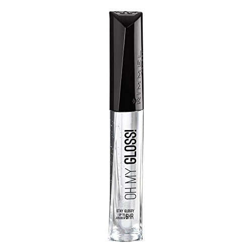 Rimmel London Oh My Gloss! Lip Gloss, 800 Crystal Clear, 6.5 ml